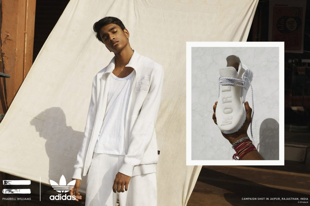 Collection adidas Originals by Pharrell Williams Hu Holi Blank Canvas
