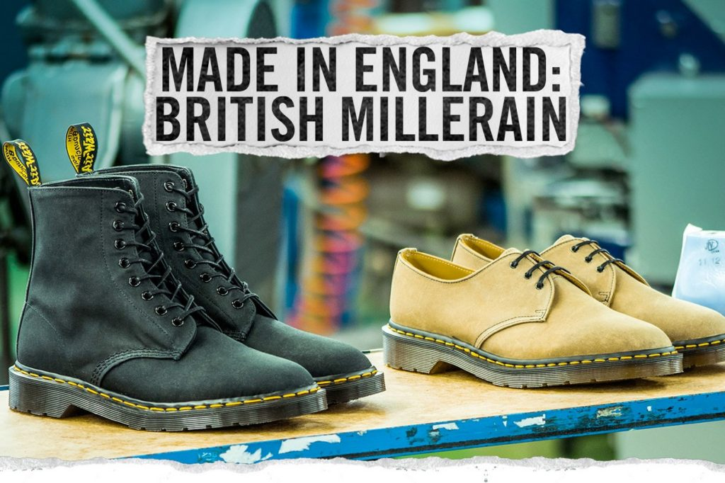 Collection capsule Dr. Martens x British Millerain