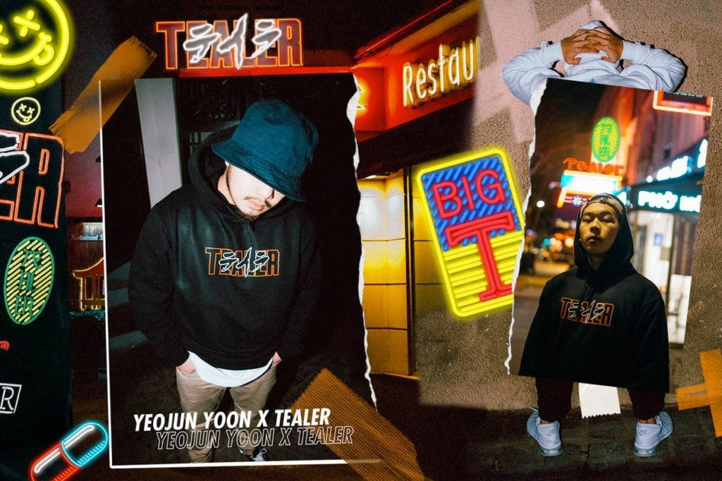 Collection capsule TEALER x Yeojun Yoon