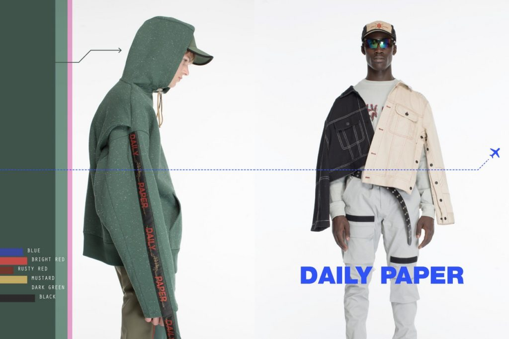 "Lookbook Daily Paper ""Transcend Borders"" Printemps/Été 2018"