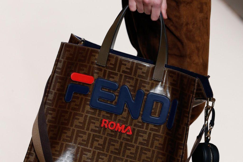 FENDI a dévoilé une collaboration avec FILA lors de la Fashion Week de Milan