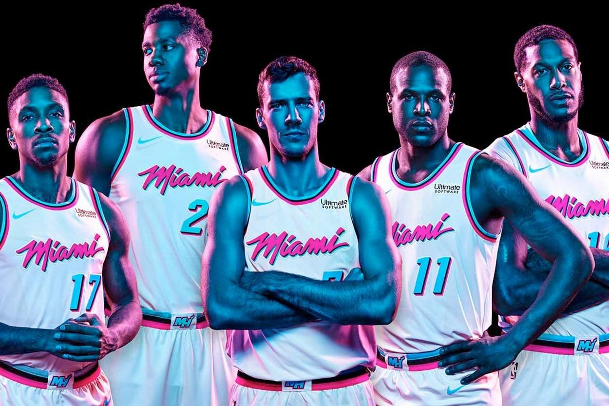 Miami Heat Pr 233 Sente Son Maillot Quot Vice City Edition Quot Viacomit