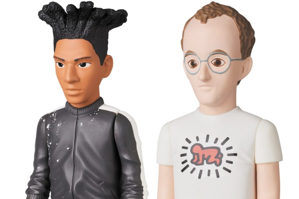 "Basquiat & Keith Haring x Medicom Toy ""Vinyl Collectible Dolls"""
