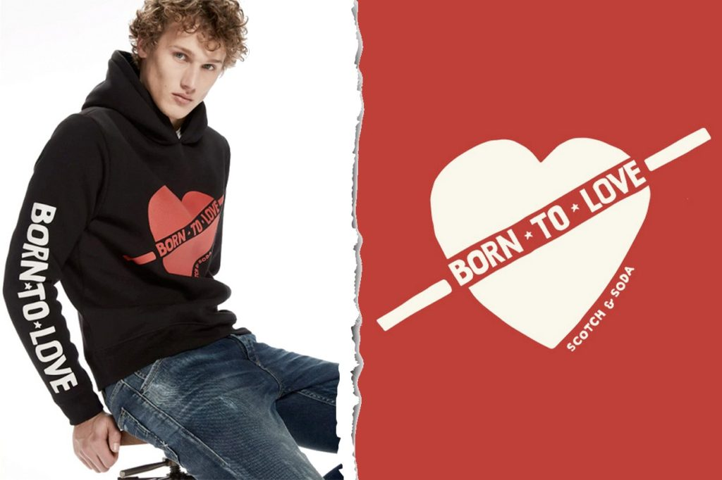 "Scotch & Soda ""Born to Love"""