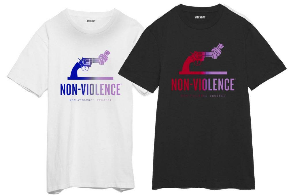 T-shirts Weekday x Non Violence Project Foundation