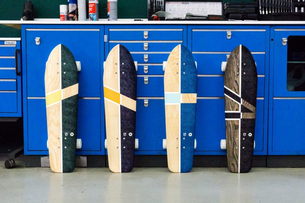 TheArsenale x Atypical skateboards