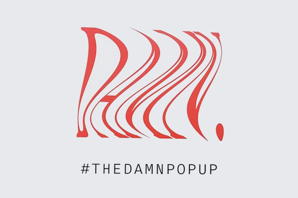 THE DAMN POP UP dans le concept store nous
