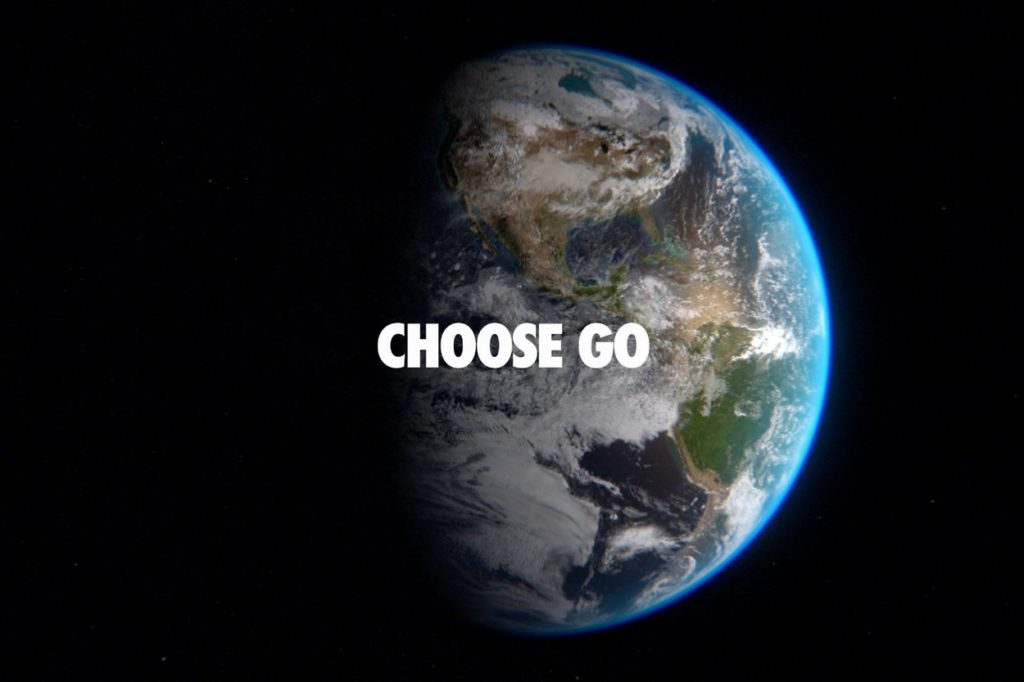 "Campagne Nike ""Choose Go"""
