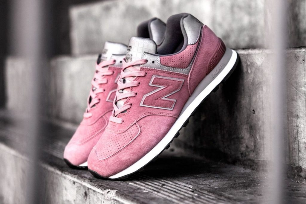 "Concepts x New Balance ML574CNT ""Rosé/Reflective Silver"""