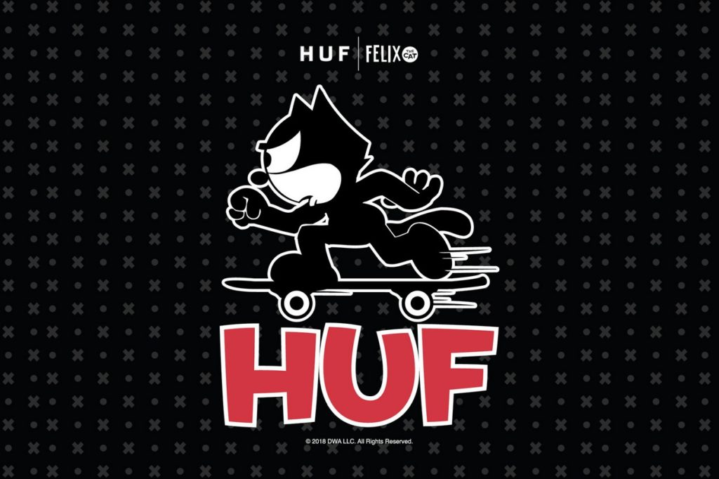 Collection capsule HUF x Felix the Cat