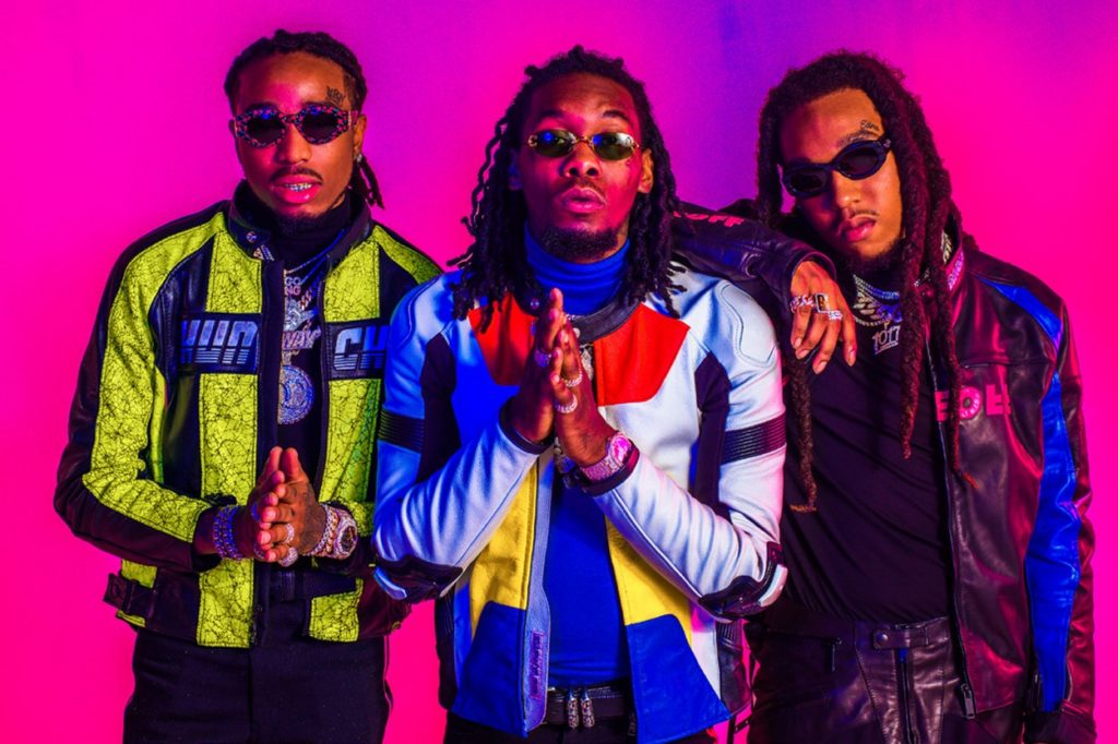 Migos installe son pop-up chez nous