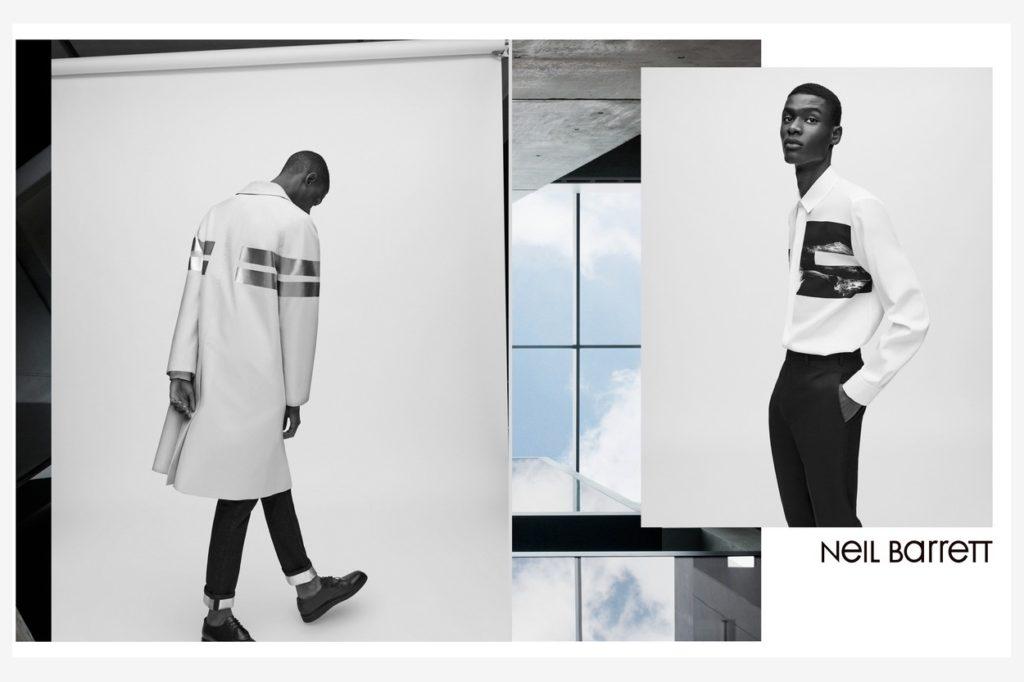 Campagne Neil Barrett Printemps/Été 2018