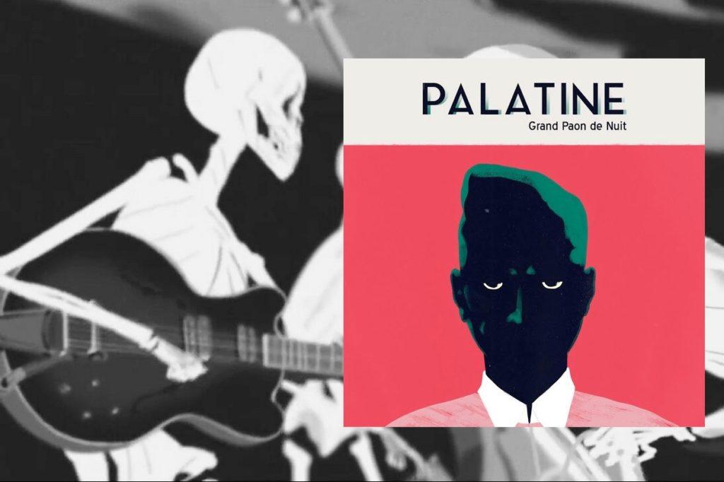 """Palatine dévoile le titre """"Paris / L'ombre"""" de leur premier album Grand Paon de Nuit"""