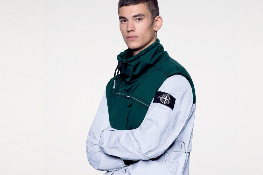 "Stone Island ""Garment Dyed Plated Reflective"""