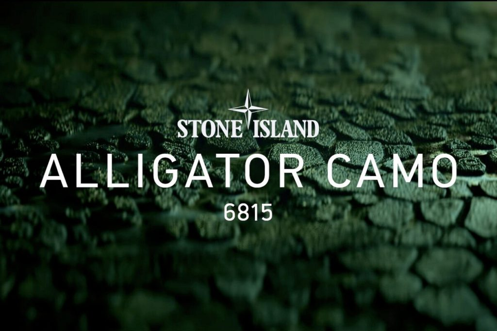 Stone Island lance une collection Alligator Camo