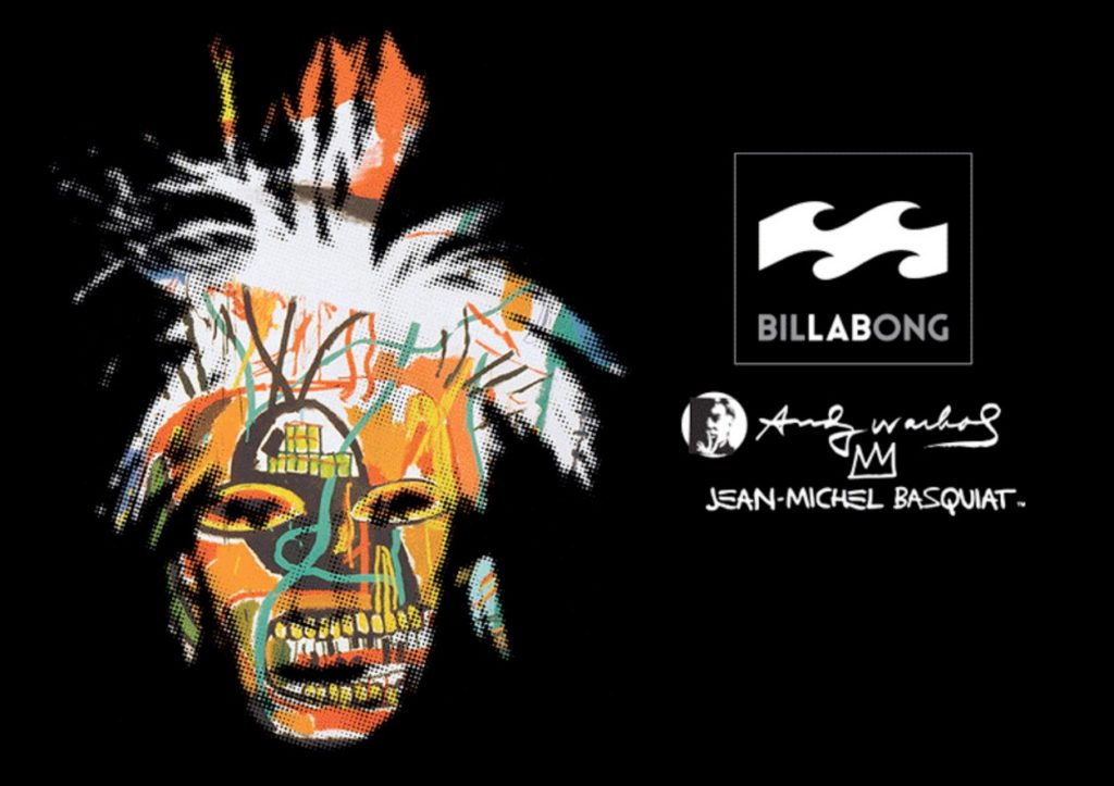 Billabong LAB. x Andy Warhol x Jean- Michel Basquiat
