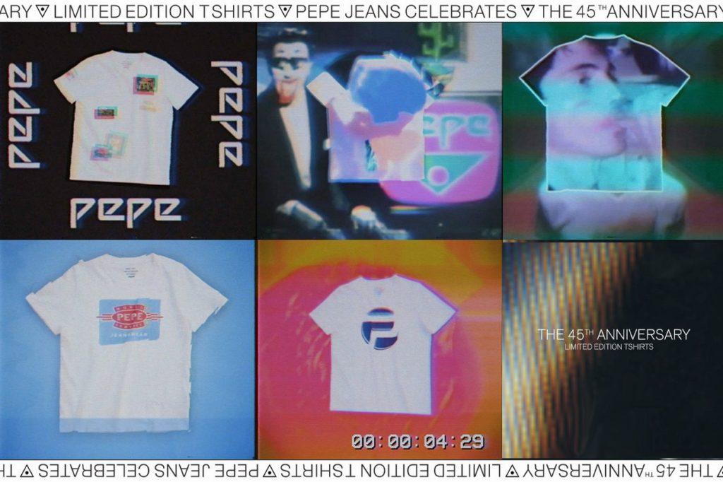 Collection Pepe Jeans 45ème anniversaire