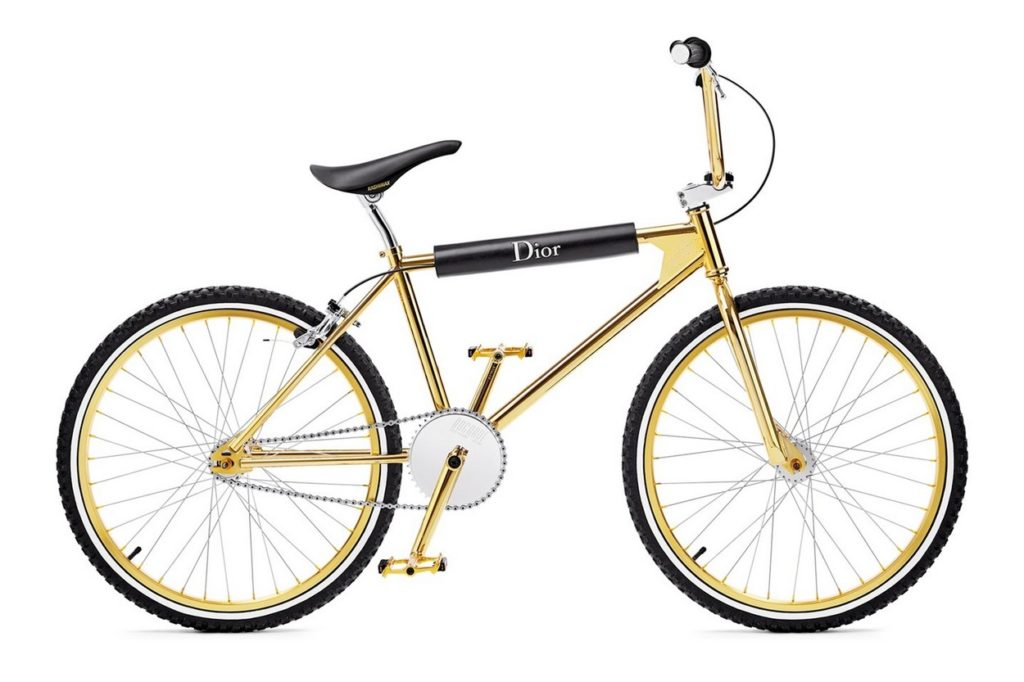 """Dior Homme x Bogarde """"Gold"""" BMX"""