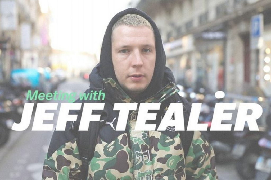 "Eastpak présente : ""Meeting with Jeff Tealer"""