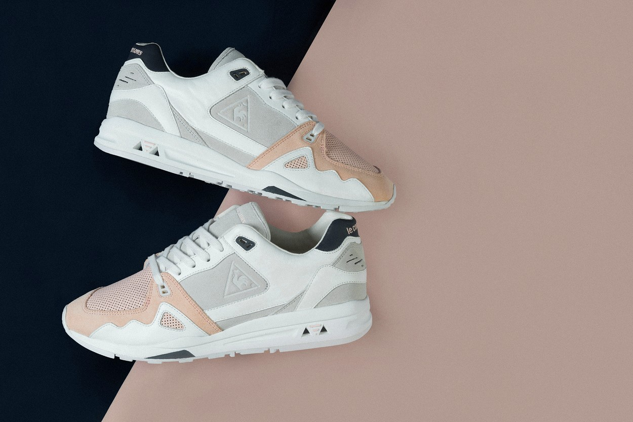 """Highs and Lows x le coq sportif R1000 """"Cygnet"""""""