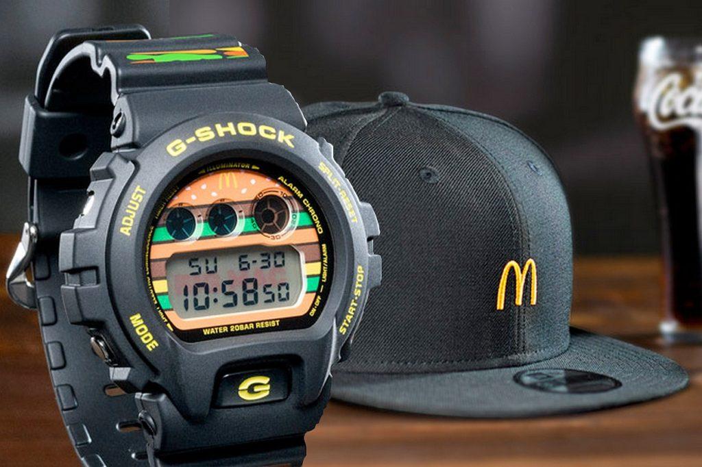 McDonald's célèbre le 50ème anniversaire du Big Mac avec G-Shock & New Era