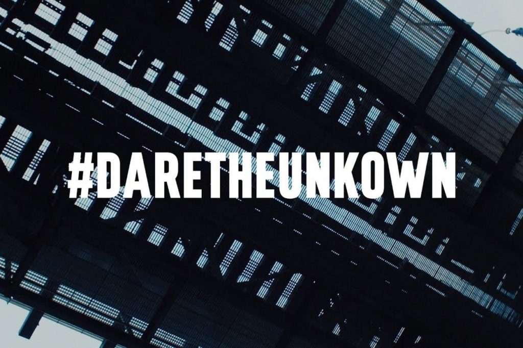 Campagne Palladium #DareTheUnknown