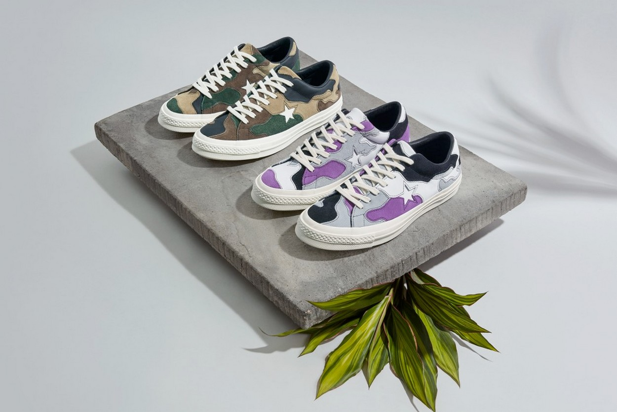 "Collection capsule ""Camo"" Sneakersnstuff x Converse"