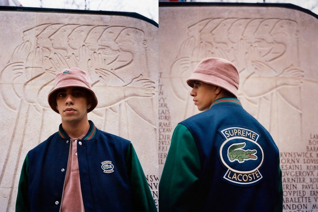 Collection Supreme x LACOSTE Printemps 2018