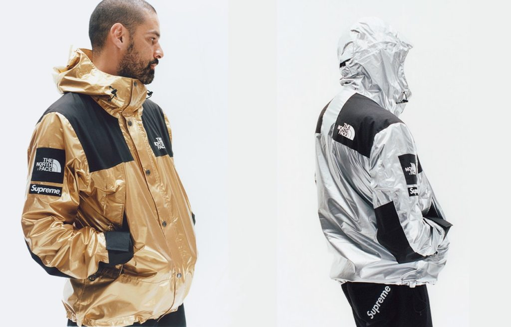 "Collection Supreme x The North Face ""Metallic"" Printemps 2018"