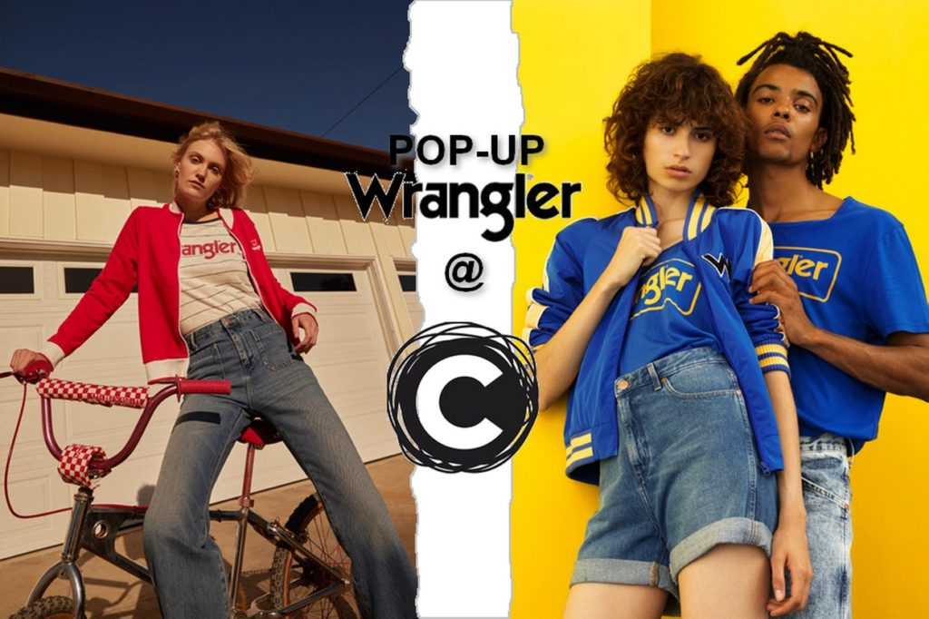 Pop-up Wrangler Printemps/Été 2018 chez Citadium