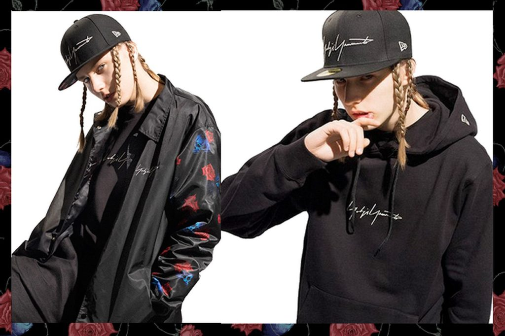 Collection florale Yohji Yamamoto x New Era Printemps/Été 2018