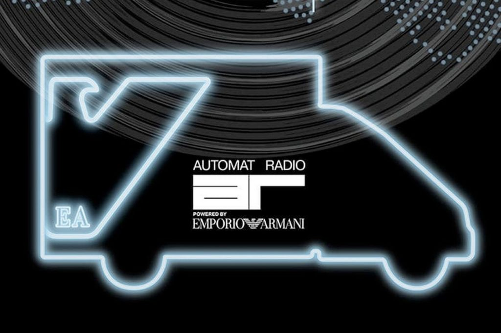 Automat Radio powered by Emporio Armani débarque à Paris