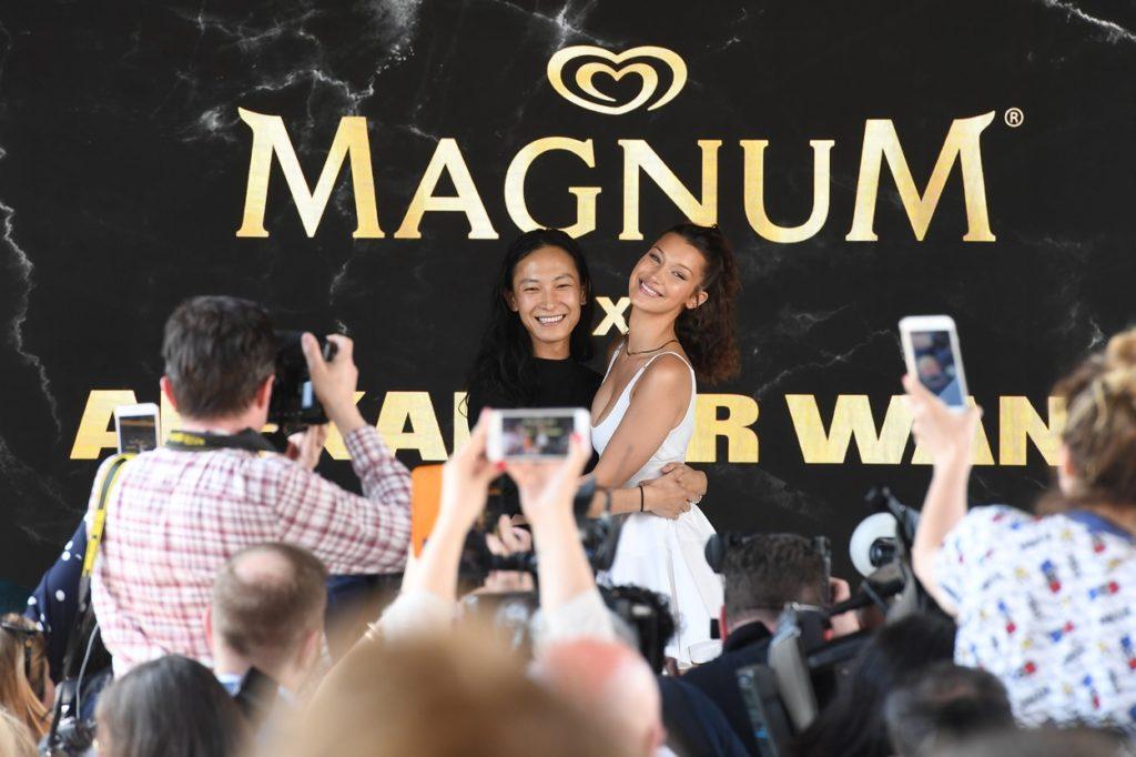Bella Hadid & Alexander Wang x Magnum