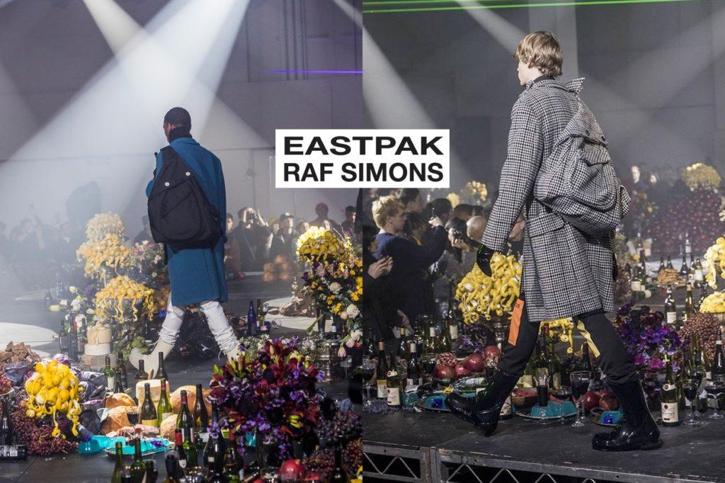 Collaboration Raf Simons x Eastpak Automne/Hiver 2018