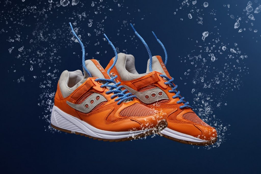 "END. x Saucony Grid 8500 ""Lobster"""