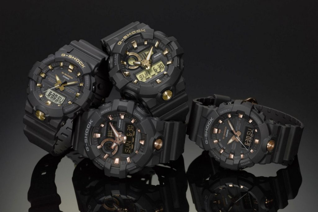 "G-Shock ""Gold Accent"""