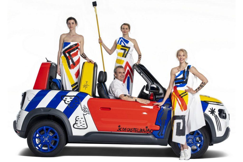 Citroën Méhari x Jean-Charles de Castelbajac