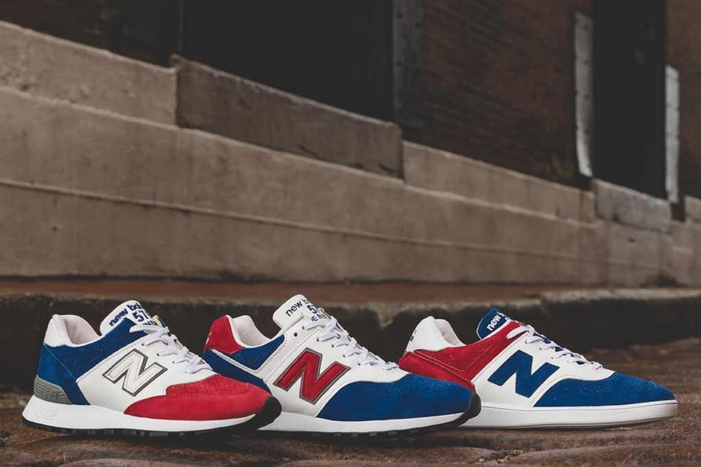 "New Balance 576 ""Tri Color Pack"" Made in UK"