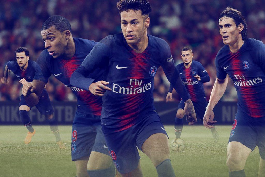 Nike Football et le PSG présentent la nouvelle tenue pour la saison 2018/2019