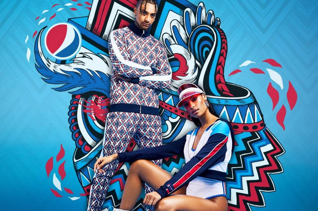 "Pepsi x boohoo ""The Art of football"""
