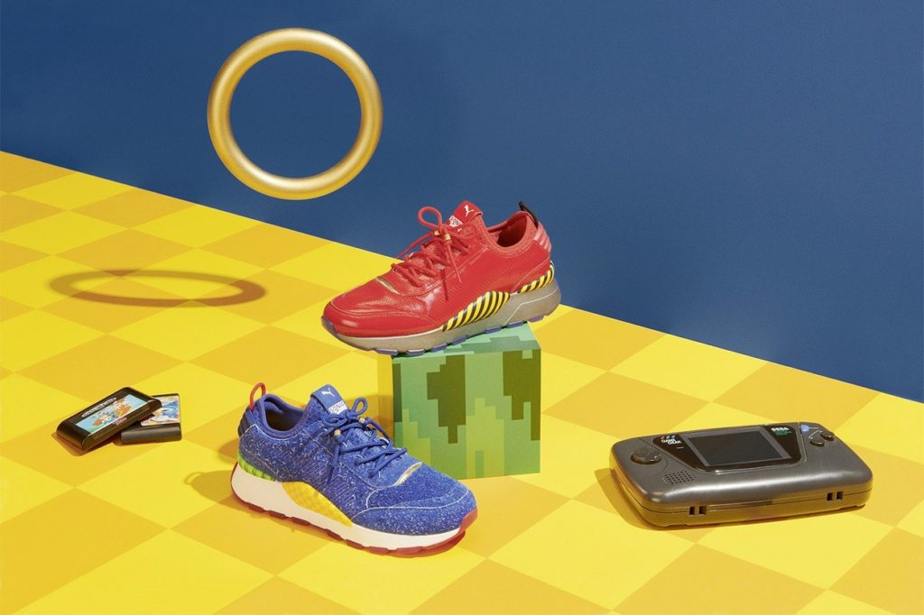 """Sonic The Hedgehog"" x PUMA"