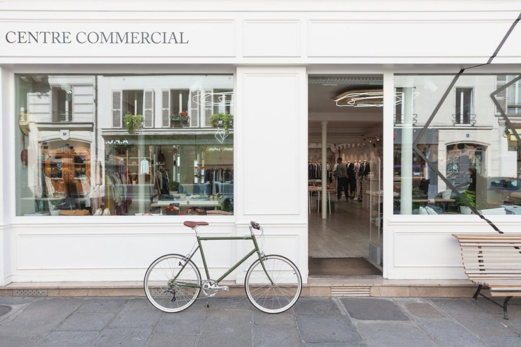 Tokyobike s'installe chez Centre Commercial