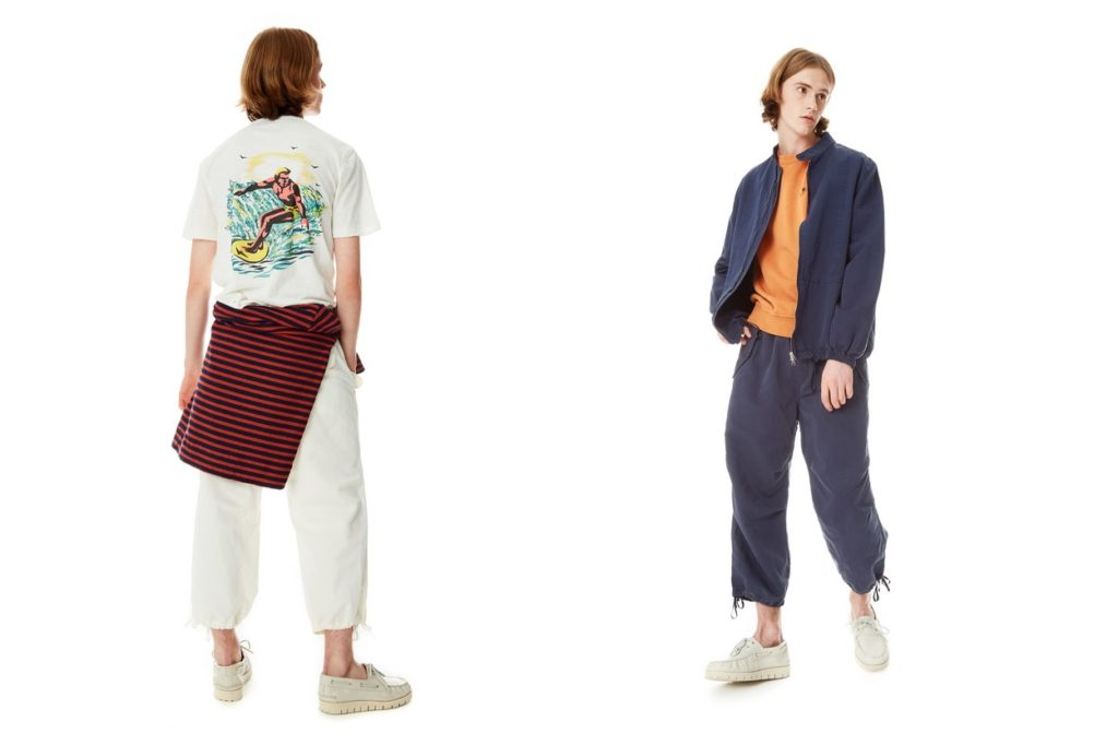 "Collection YMC ""BIG SUR"" Printemps/Été 2018"