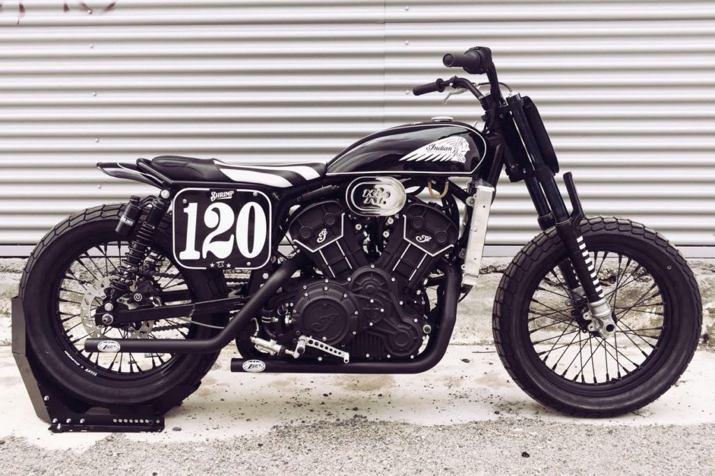 "Indian Scout Sixty ""Shrimp"" par Anvil Motociclette"