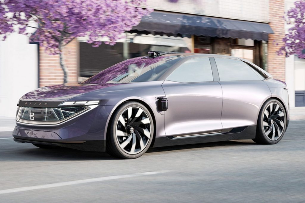 BYTON K-Byte Concept Electric Sedan