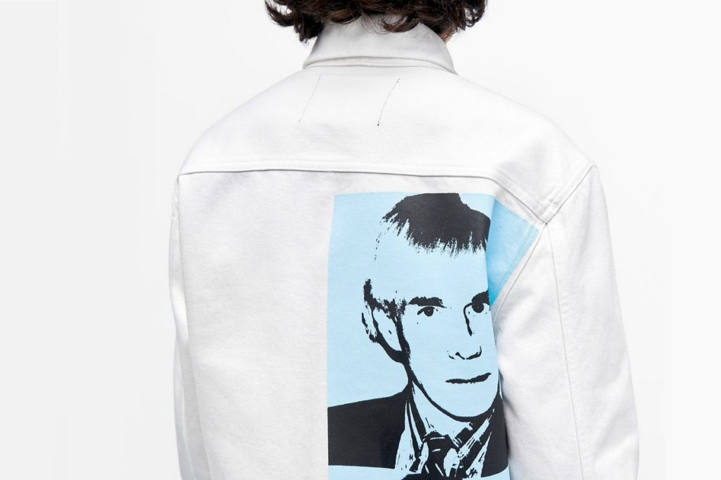 "Collection Calvin Klein Jeans x Warhol ""Self Portrait"""