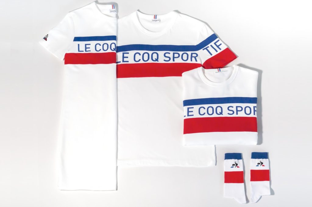 Collection Bleu Blanc Rouge par le coq sportif