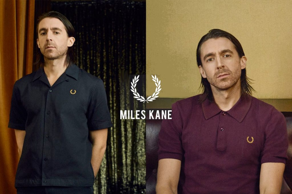 Nouvelle collection capsule Miles Kane x Fred Perry