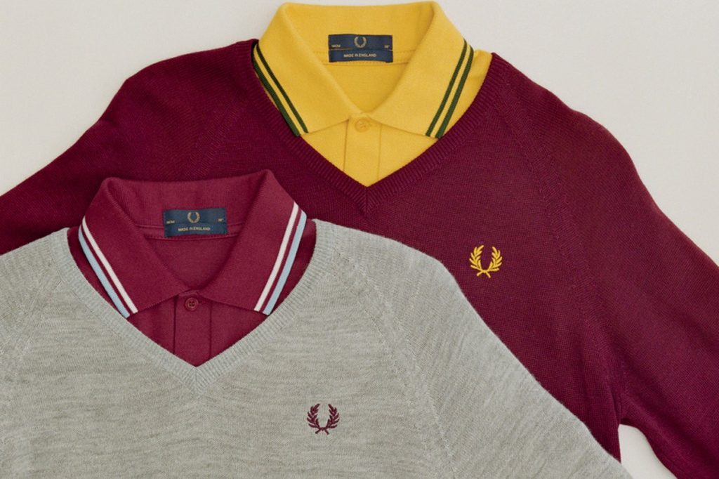 "Collection Fred Perry ""Reissues"" Printemps/Été 2018"