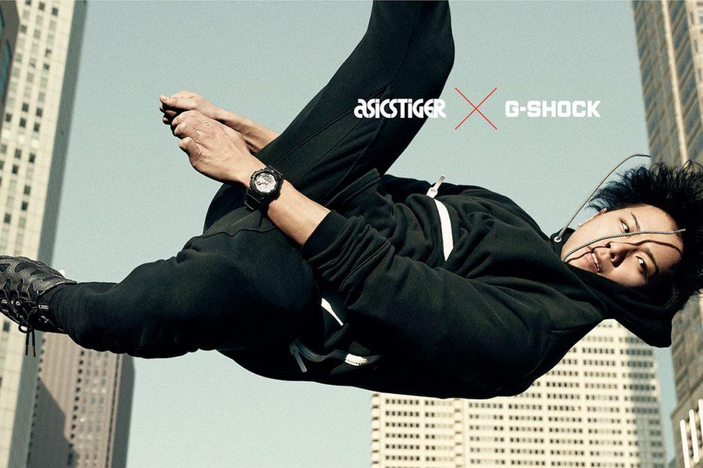 G-Shock x ASICS Tiger